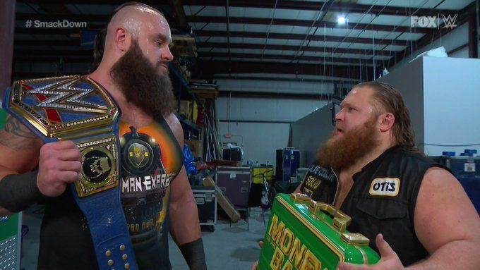 Otis and Braun Strowman teamed up for the main event