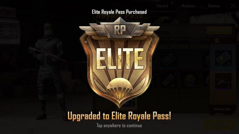 PUBG Mobile Elite Royale Pass