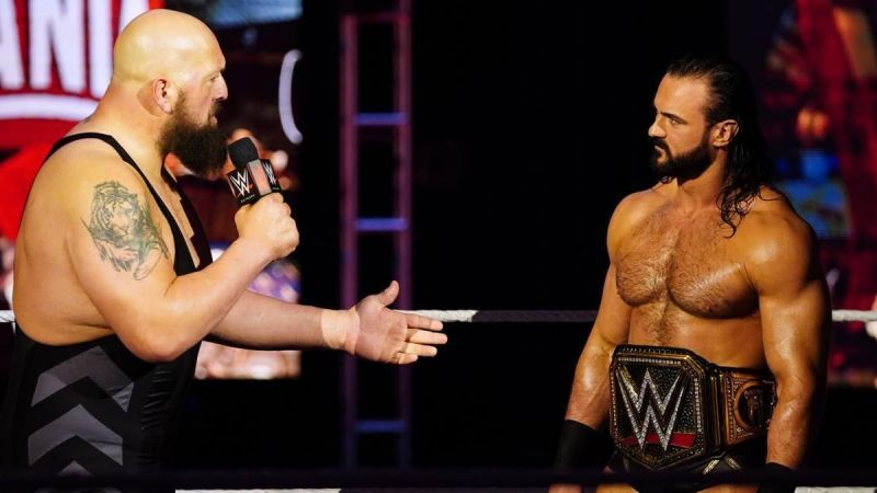 Drew McIntyre was quickly challenged by the WWE Legend after winning the title