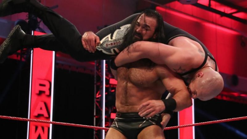Is Drew McIntyre getting into a trap set by MVP and Bobby Lashley tonight on RAW?