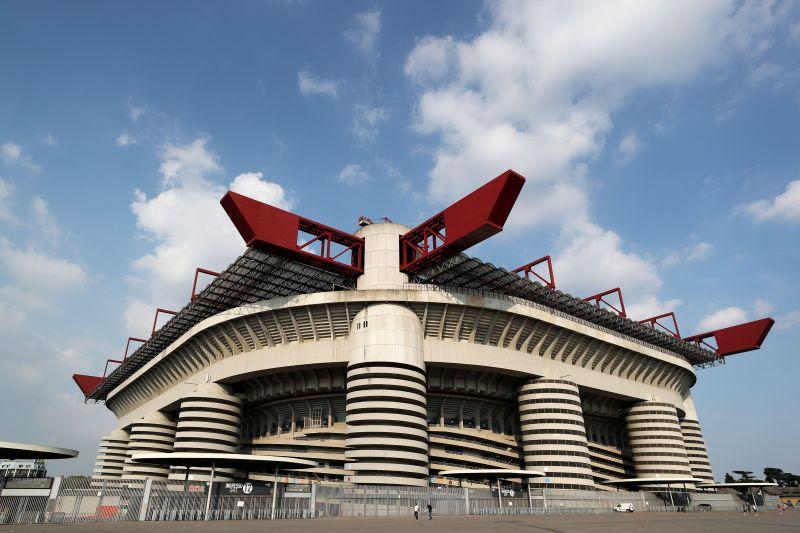 The iconic San Siro Stadium in Milan