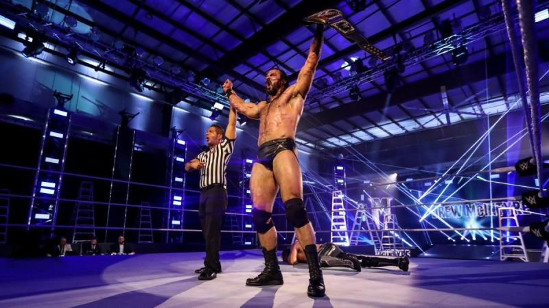 Drew McIntyre stands tall at Money in the Ba