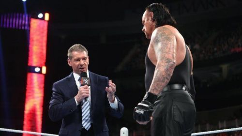 Vince and The Undertaker