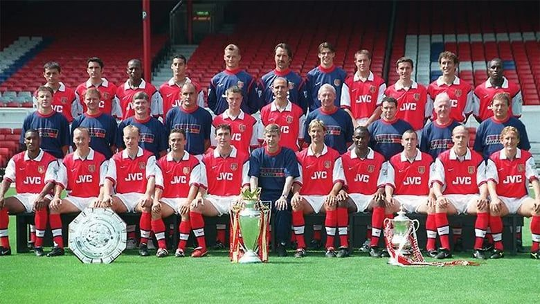 Arsene Wenger won the Premier League in his first season in charge of Arsenal