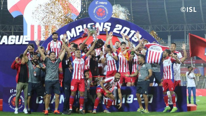 ATK were crowned ISL champions in March 2020 (Image credits: ISL)