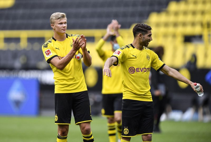 Haaland and Hakimi were crucial in Dortmund