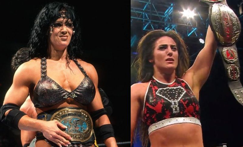 Chyna and Tessa Blanchard