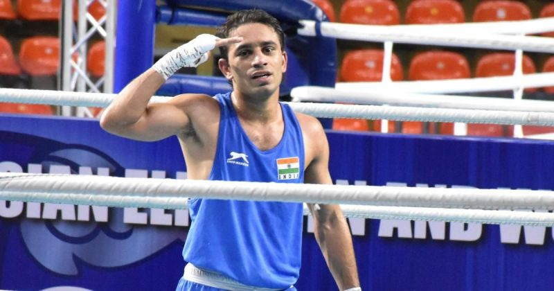 Amit Panghal is being talked about as a medal prospect at the Olympics (Credits: Scroll)