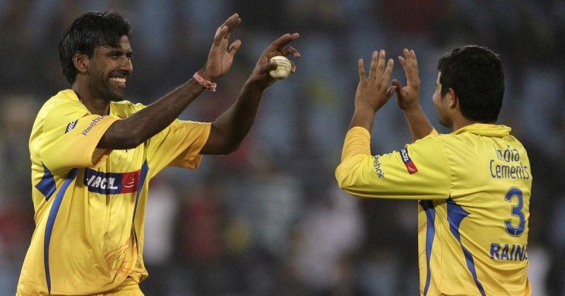 Balaji took a hat-trick in his home state of Tamil Nadu