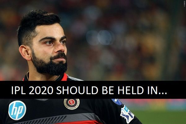 Virat Kohli has apparently shared his thoughts on the feasibility of IPL 2020
