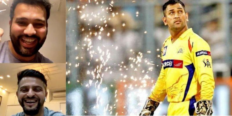 Suresh Raina and Rohit Sharma picked a combined Mumbai Indians-Chennai Super Kings XI