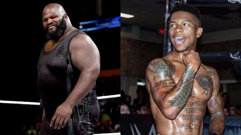Mark Henry and Lio Rush have been engaged in a war of words
