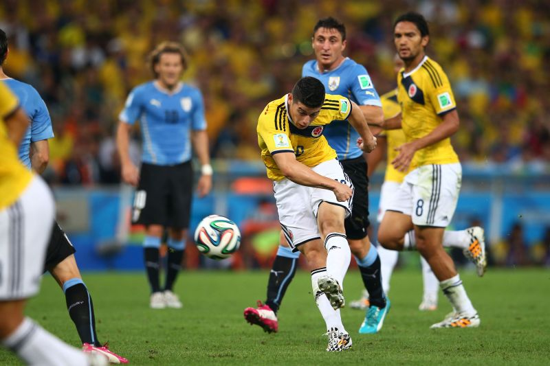CJames Rodriguez won the 2014 World Cup golden boot and also the Puskas award for this goal