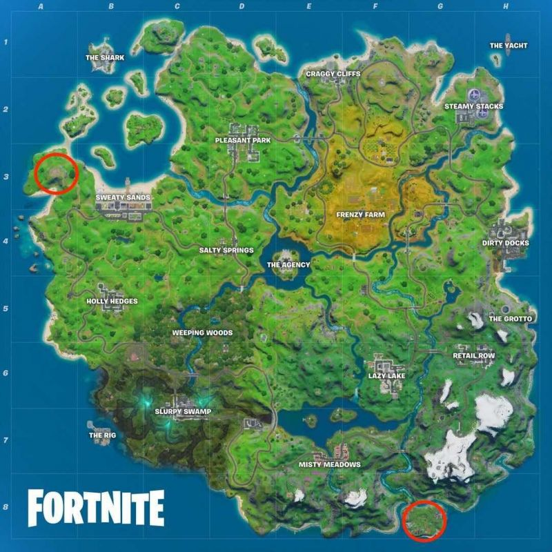 Fortnite Camp Cod Location - Image Credits (Gamespot/Epic games)