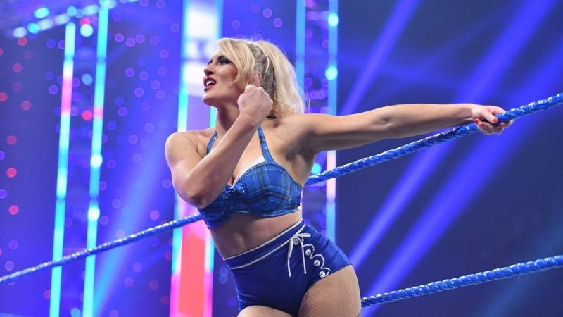 Lacey Evans could get the push on SmackDown