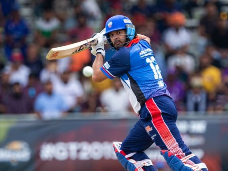 Yuvraj Singh is one of the few former India players to have taken part in a foreign league