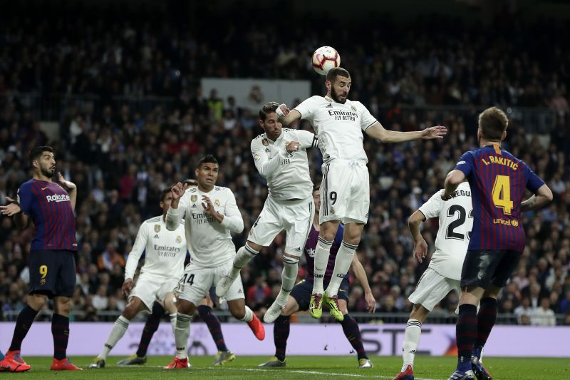 Real Madrid recorded a deserved 2-0 victory against Barcelona in March.
