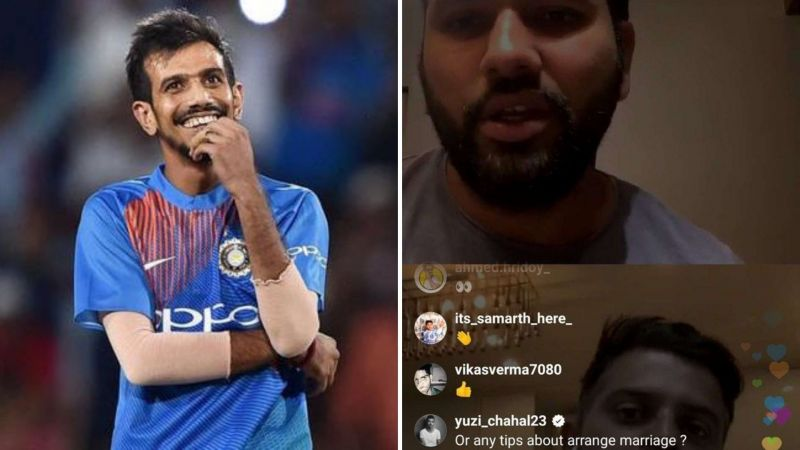 Yuzvendra Chahal has been very active on social media