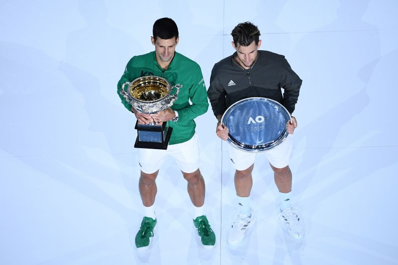 Novak Djokovic ousted Thiem in the Australian Open 2020 final after five intense sets