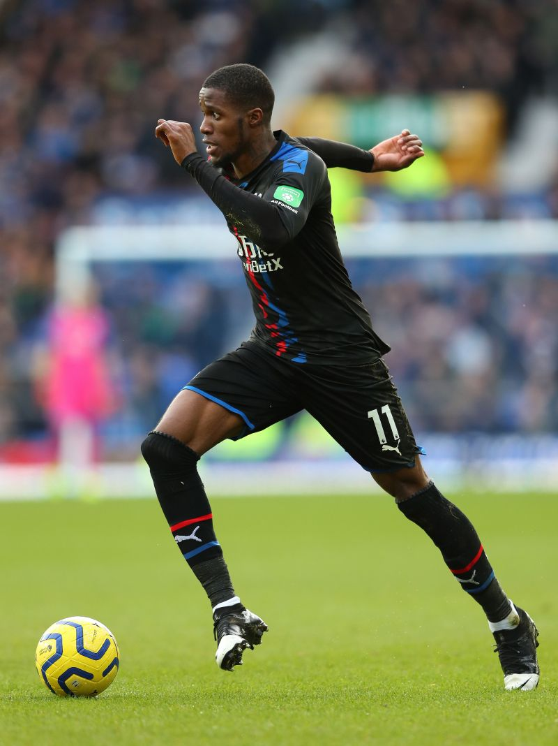 Zaha is arguably the best dribbler in the Premier League