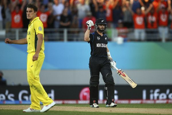 Kane Williamson finished the game off with a six
