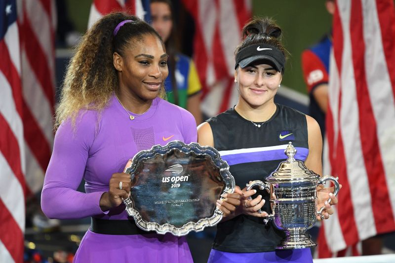 Serena Williams lost the 2019 US Open final to Bianca Andreescu