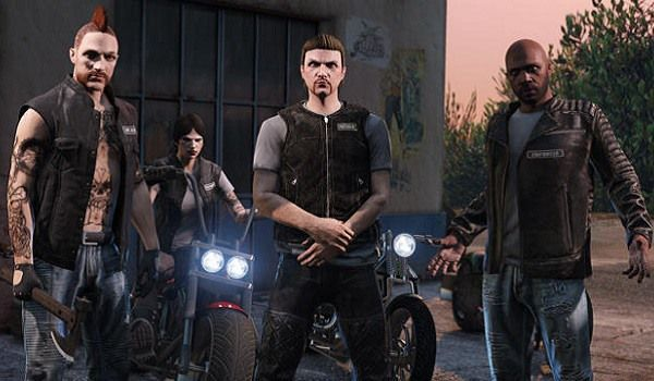 A Biker Gang in GTA Online