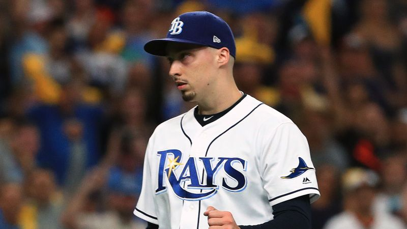 Blake Snell Tampa Bay Rays MLB