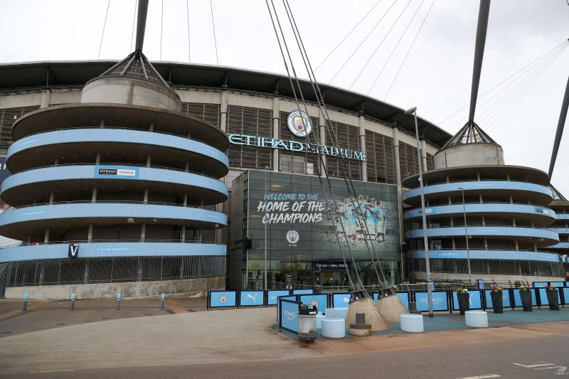 The Etihad Campus has been modified to help suit the needs of the NHS