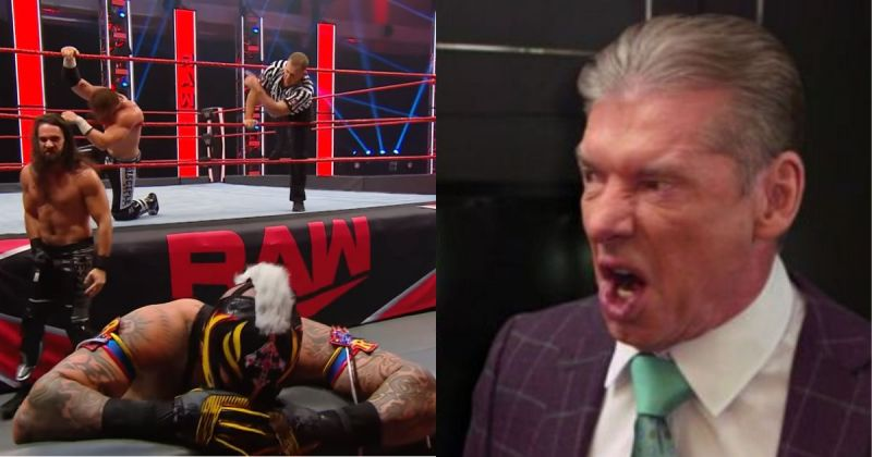 Rollins launched a vicious attack on Rey Mysterio on this week