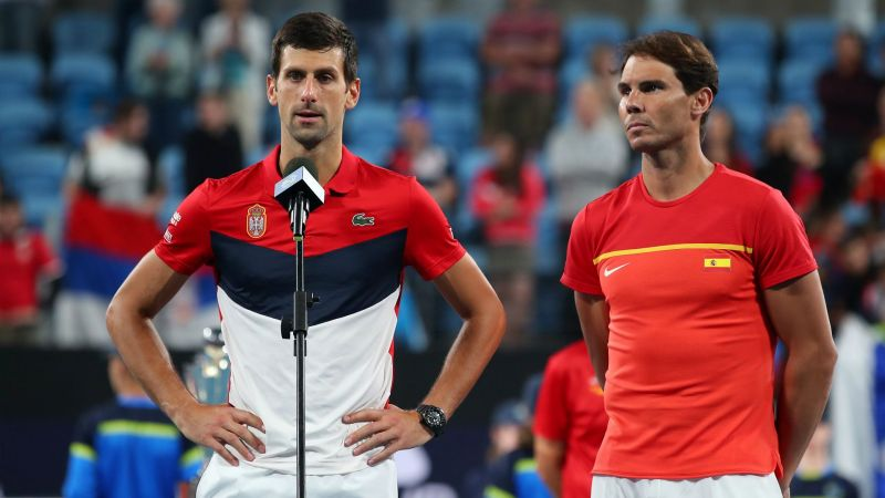 Djokovic and Nadal - Cropped