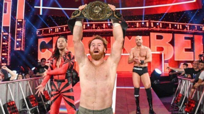 Sami Zayn is no longer the WWE Intercontinental Champion.