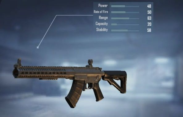 MK47 Mutant with stats