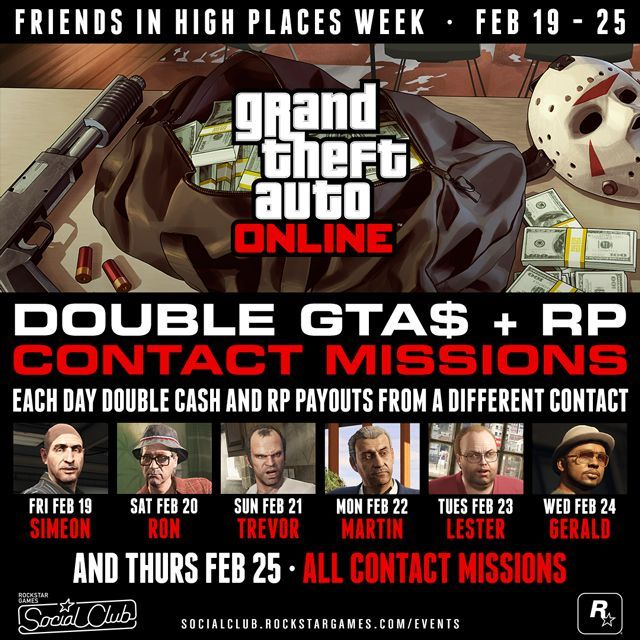 GTA 5 Contact Missions