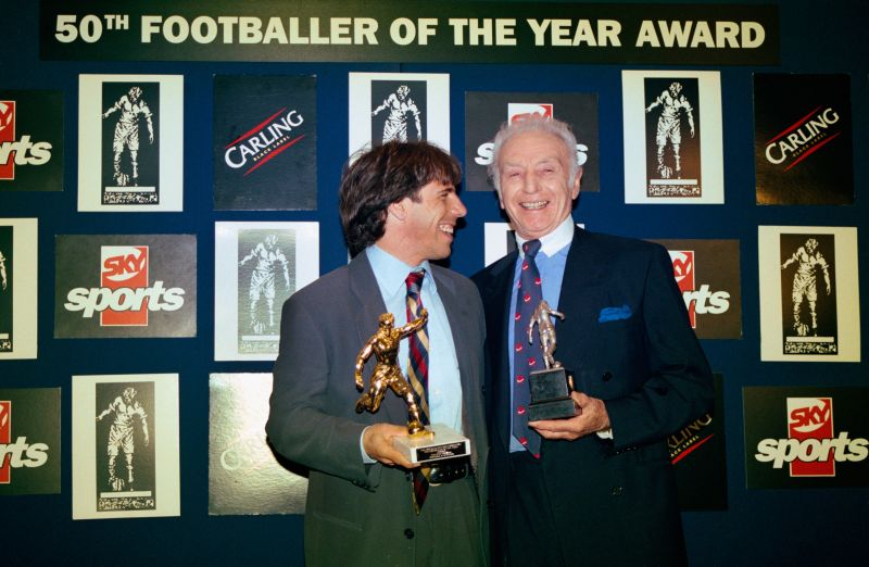 Gianfranco Zola and Stanley Matthews Sir Stanley Matthews