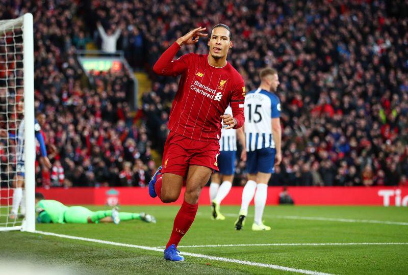 Liverpool centre-half Virgil van Dijk