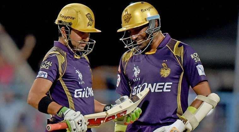 Gautam Gambhir and Robin Uthappa helped KKR to an easy victory in IPL 2017