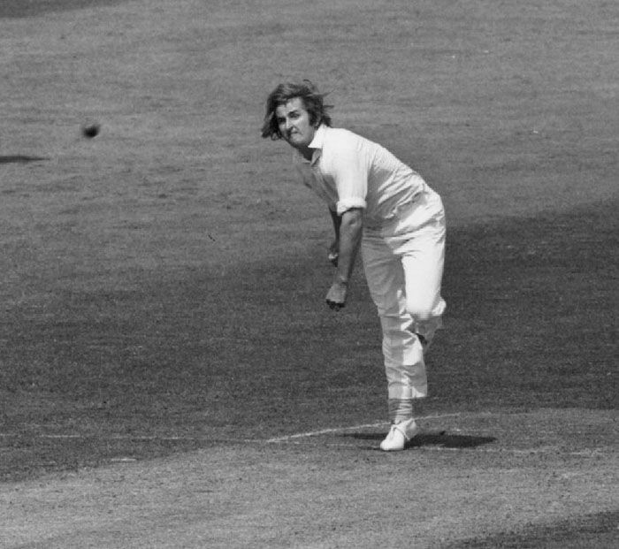 Gilmour tormented the English batsmen in the 1975 World Cup semi-final