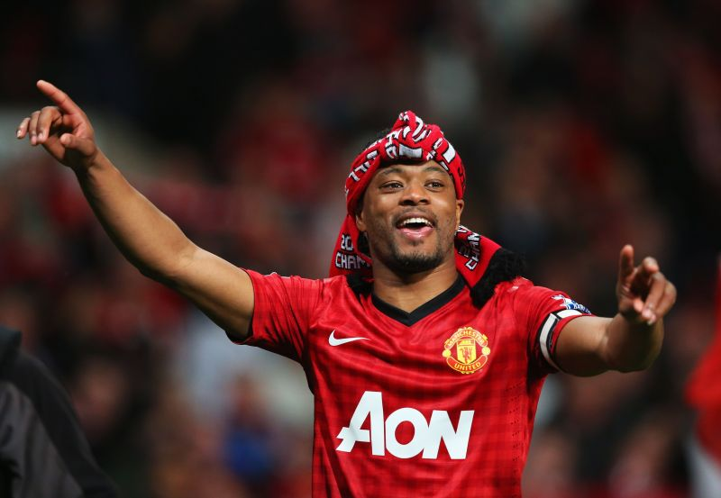 Patrice Evra had a trophy-laden eight-year stint at Manchester United N