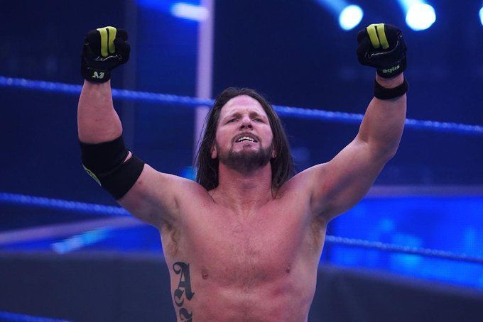 AJ Styles is back in the house that he built