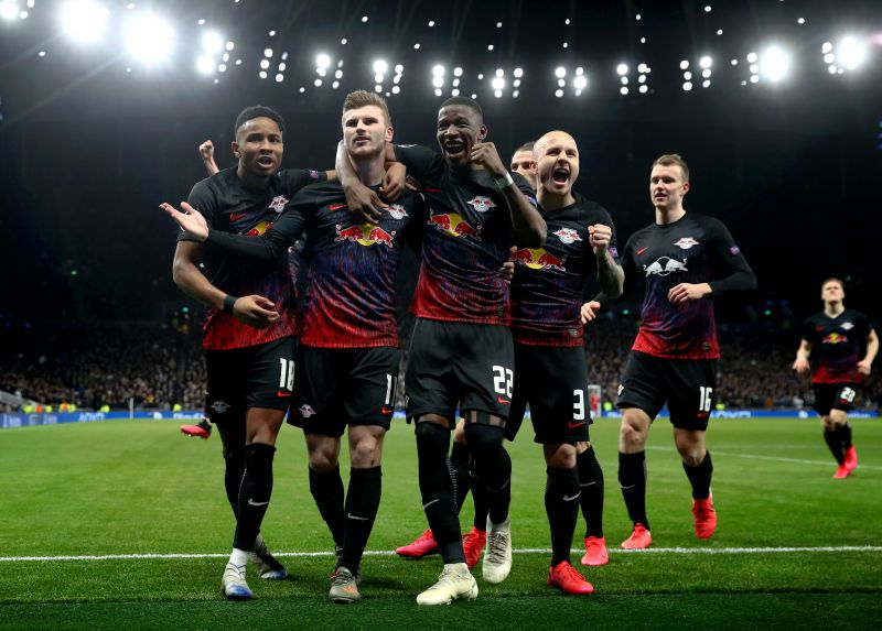 RB Leipzig thrashed Spurs before the season paused