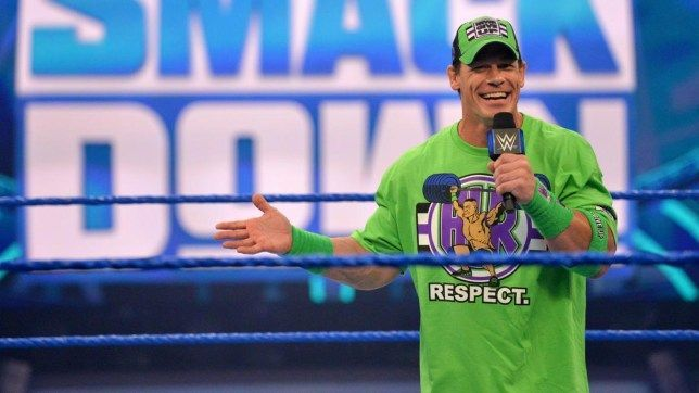 John Cena met with a young fan and made his day