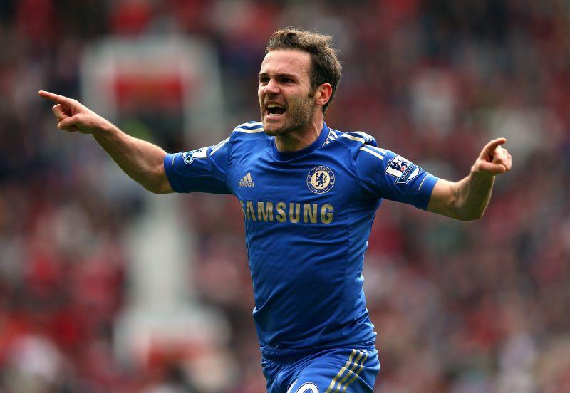 Juan Mata had a trophy-laden spell at Chelsea