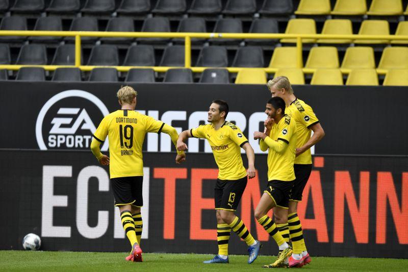 Julian Brandt was central to the creative play of Borussia Dortmund against Schalke 04
