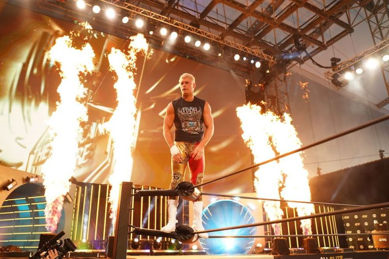 Cody Rhodes / Photo courtesy of All Elite Wrestling