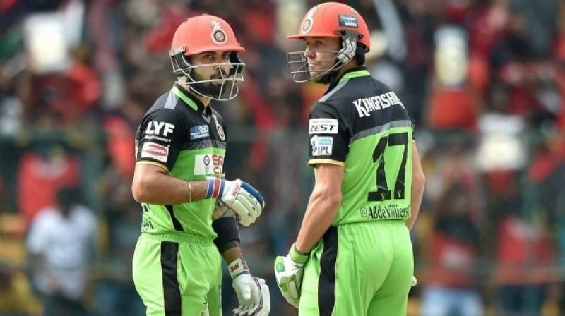 Virat Kohli and AB de Villiers hold the record for the highest partnership in the IPL