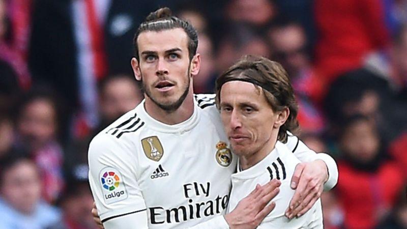Gareth Bale and Luka Modric - cropped