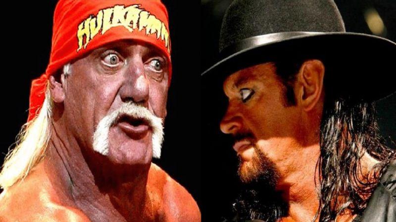 Hogan and The Undertaker