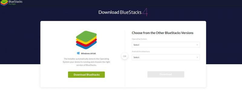 Bluestacks Official Website