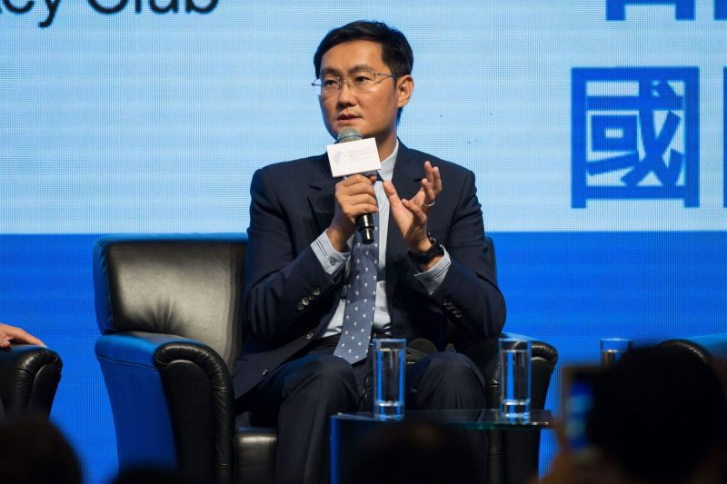 Ma Huateng, CEO of Tencent Games